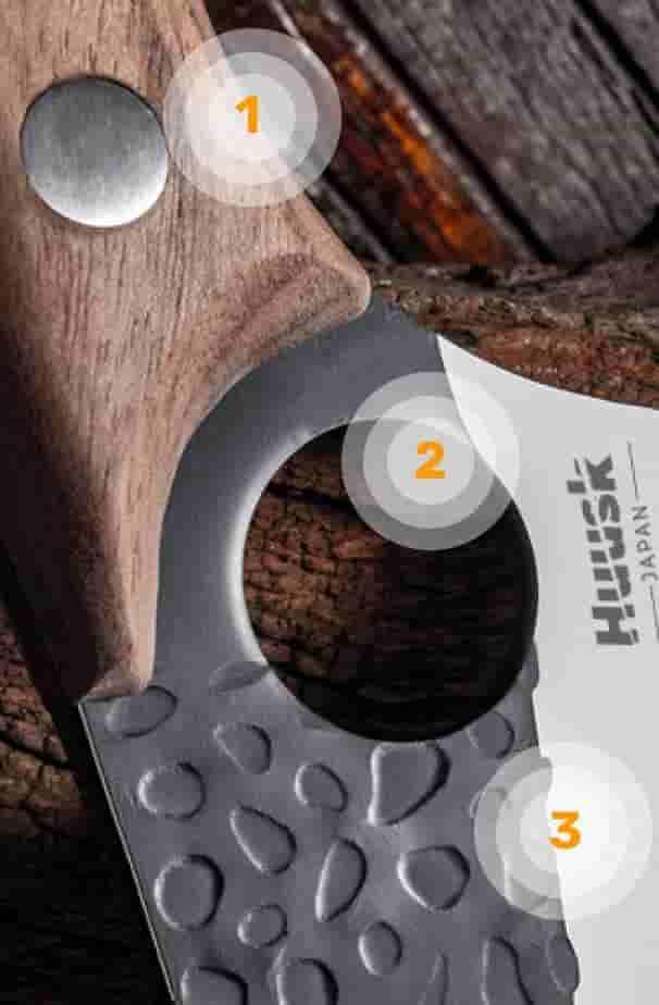 Huusk knife